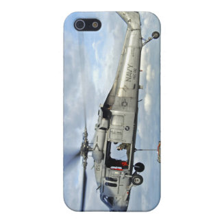 An MH-60S Seahawk prepares to deliver ammunitio iPhone 5 Case