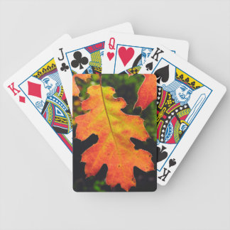 An Oak Leaf in Six Rivers National Forrest Bicycle Playing Cards