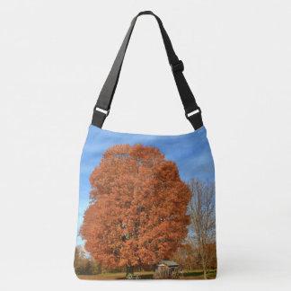 An Oak Tree in the Autumn II Crossbody Bag