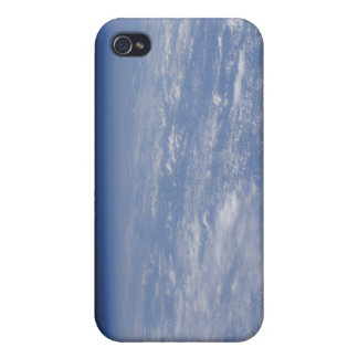 An oblique horizon view of the Earth's atmosphe iPhone 4/4S Cases
