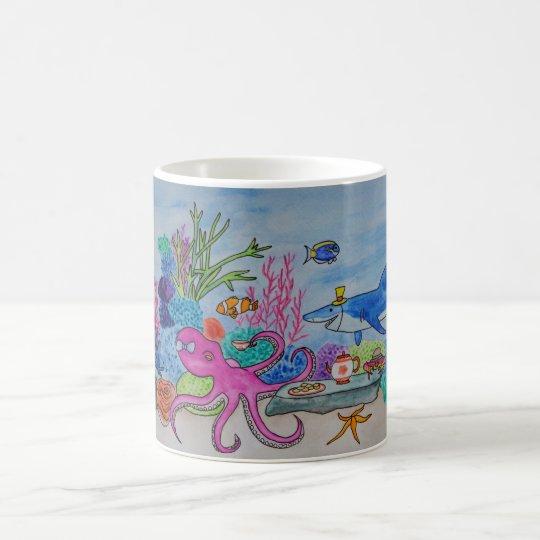 An Octopus's Garden (In the Shade) Coffee Mug
