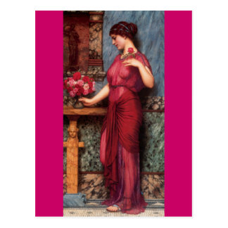 An Offering To Venus - Godward Postcards