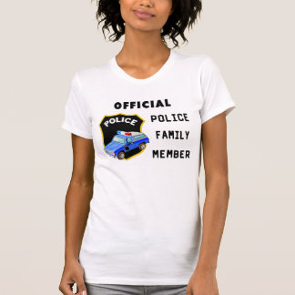 An Official Police Family T Shirts