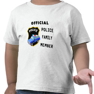 An Official Police Family T-shirt
