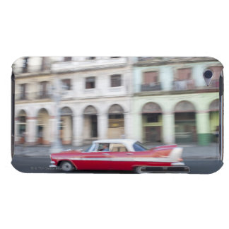 An old car cruising the streets of Havana, Cuba. Barely There iPod Covers