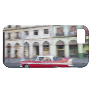 An old car cruising the streets of Havana, Cuba. iPhone 5 Cases
