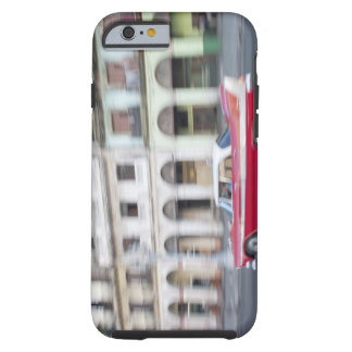 An old car cruising the streets of Havana, Cuba. Tough iPhone 6 Case