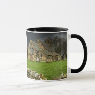 An Old Church Under A Dark Sky Mug