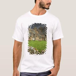 An Old Church Under A Dark Sky T-Shirt