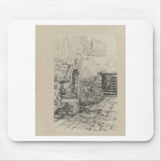 An Old Cistern by James Tissot Mouse Pad