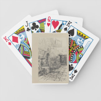 An Old Cistern by James Tissot Poker Deck