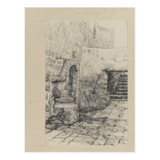 An Old Cistern by James Tissot Postcard