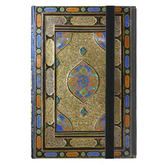 An Old Colourful Decorative Book Cover Case For iPad Mini