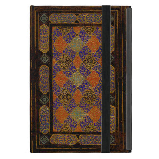 An Old Decorative Book Cover Cases For iPad Mini