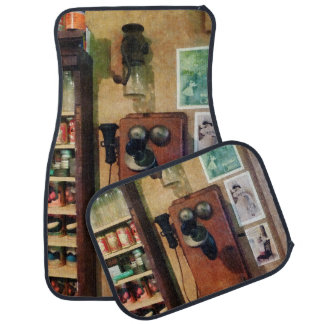 An Old Fashioned Telephone Car Mat