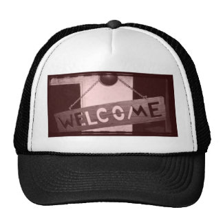 An Old Fashioned Welcome Trucker Hats