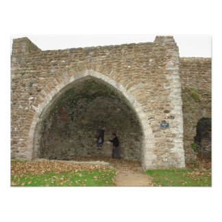 An old structure on the boundary of Dover Castle Photo Print