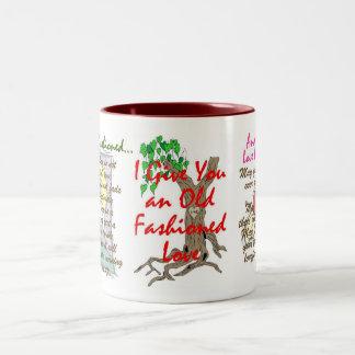 An Olde Fashioned Love (2) Two-Tone Mug