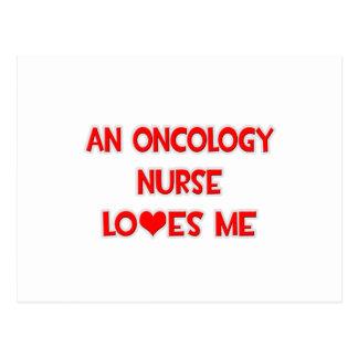 An Oncology Nurse Loves Me Postcard