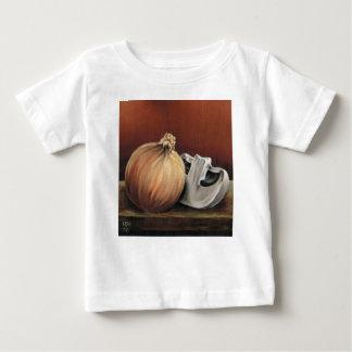 An onion and a mushroom baby T-Shirt