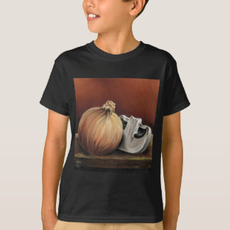 An onion and a mushroom T-Shirt