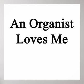 An Organist Loves Me Poster