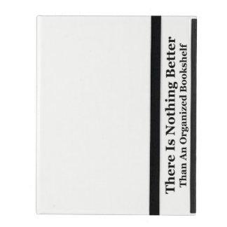 An Organized Bookshelf iPad Folio Case