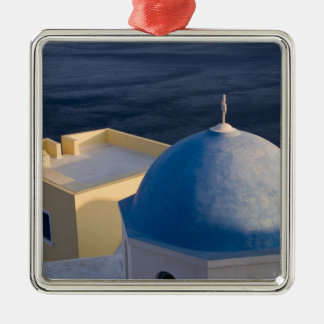 An Orthodox Church near the sea, Oia Santorini Christmas Ornament