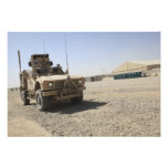 An Oshkosh M-ATV 2 Photographic Print