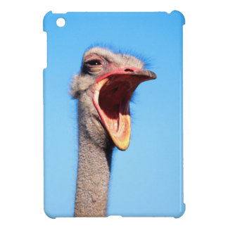 An Ostrich showing aggression Cover For The iPad Mini