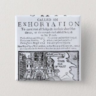 An Ould Ship called an Exhortation' 15 Cm Square Badge