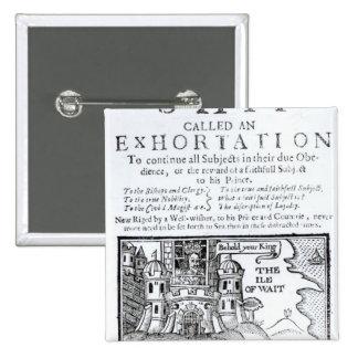 An Ould Ship called an Exhortation' Pinback Buttons