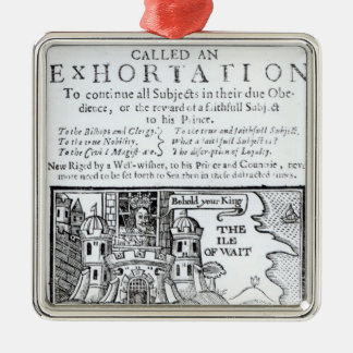 An Ould Ship called an Exhortation' Christmas Ornament