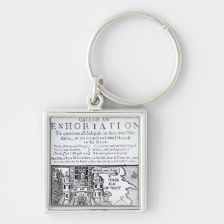 An Ould Ship called an Exhortation' Key Ring