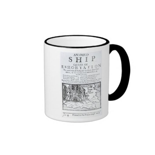 An Ould Ship called an Exhortation' Coffee Mugs