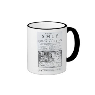 An Ould Ship called an Exhortation' Ringer Mug