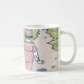 An outing basic white mug