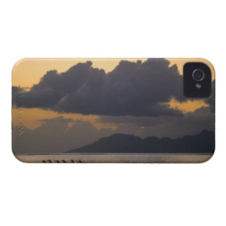 An outrigger canoe team practices off the coast iPhone 4 cases