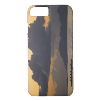 An outrigger canoe team practices off the coast iPhone 8/7 case