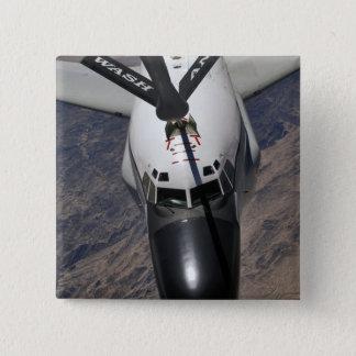 An RC-135 Rivet Joint Reconnaissance aircraft 15 Cm Square Badge
