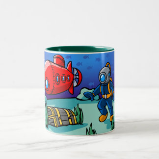An Underwater Adventure Mugs