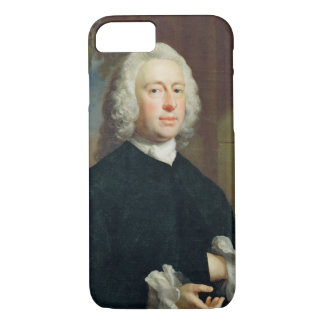 An Unknown Man in Black, 1735 (oil on canvas) iPhone 8/7 Case
