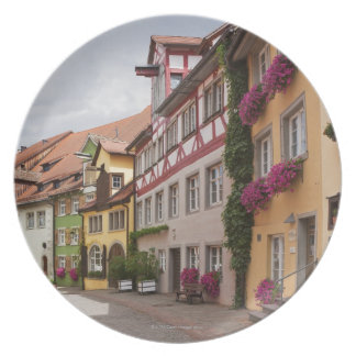 An unusually well-preserved medieval town on the plate