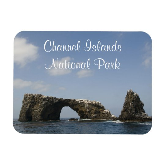 Anacapa Island Arch, Channel Islands National Park Rectangular Photo Magnet