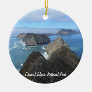 Anacapa Island- Channel Islands National Park Christmas Ornament
