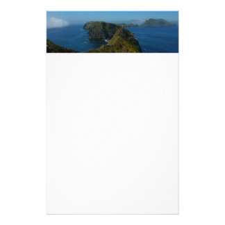 Anacapa's Inspiration Point I in Channel Islands Customized Stationery