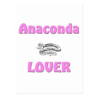 Anaconda Lover Postcard