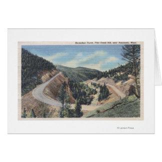 Anaconda, Montana - Horseshoe Curve Card