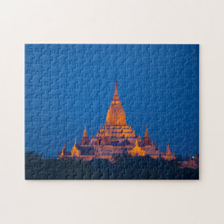 Anada Temple At Twilight Jigsaw Puzzle