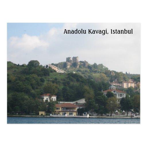 Anadolu Kavagi, Istanbul Post Card